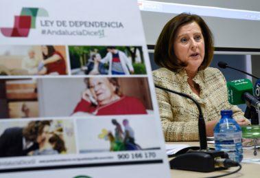 María José Sánchez Rubio, durante la presentación de la campaña.
