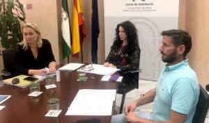 Rocío Ruiz preside el pleno del Observatorio Andaluz de Violencia de Género.