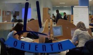 Una oficina de la red Andalucía Orienta.