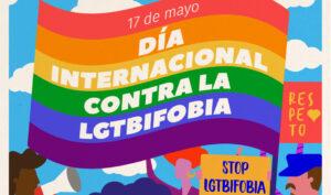 Cartel anunciador del Congreso Internacional LGTBI de Andalucía (pinchar aquí para ver el cartel completo).