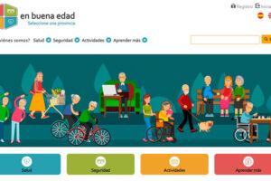 Acceso a la plataforma 'En buena salud' de promoción del envejecimiento activo.