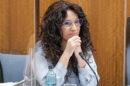 La consejera de Igualdad, Rocío Ruiz, durante la comisión parlamentaria.