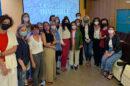 La consejera de Igualdad, tras la presentación del documental en la Universidad de Cádiz.