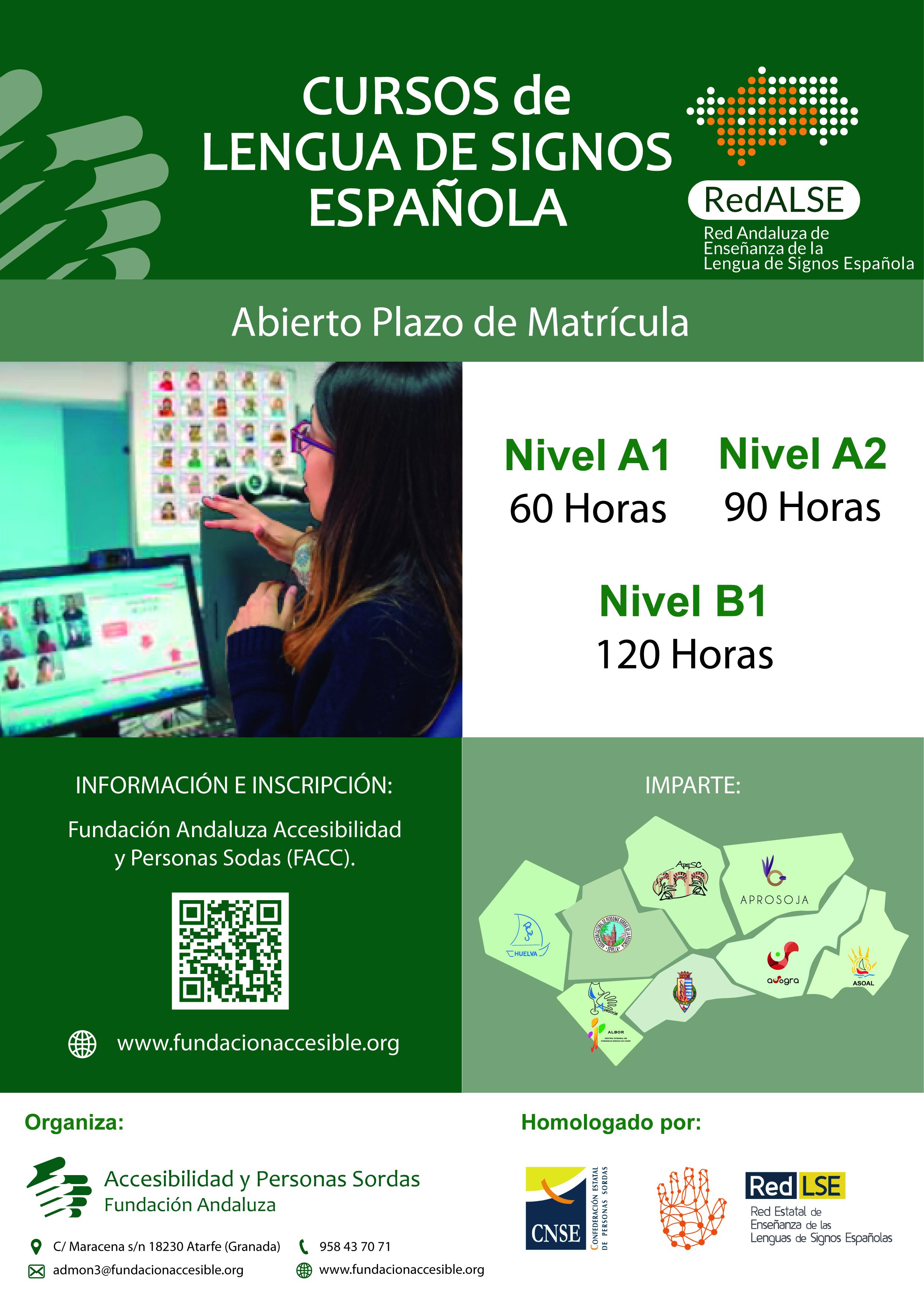 Curso De Lengua De Signos Espanola Usuario Basico A1 Fundacion Andaluza Accesibilidad Y Personas Sordas